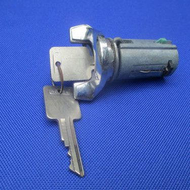 ignition-lock-with-two-keys